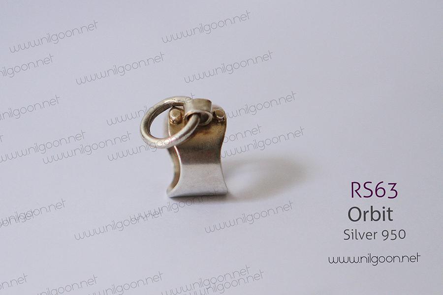 انگشتر نقره Orbit