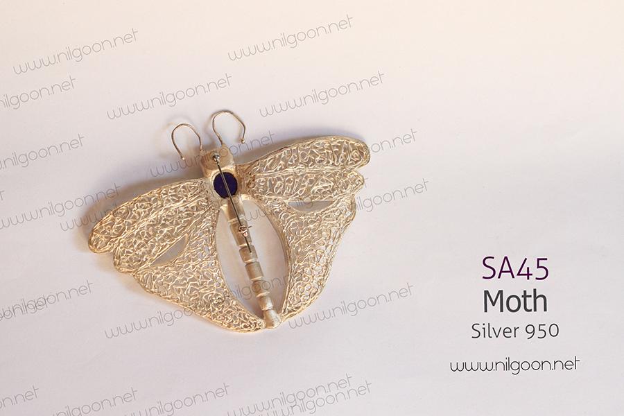 سایر نقره Moth